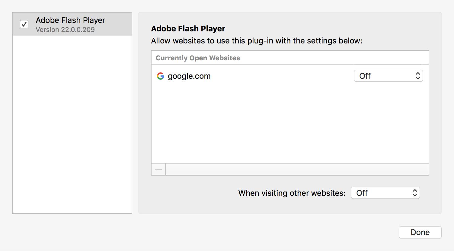 Disabling Adobe Flash and Java Plugins | GoldKey